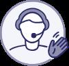 icone langue des signes française